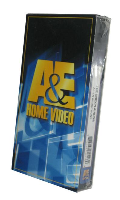 A&E Unexplained Alien Abductions Vintage VHS Video Tape