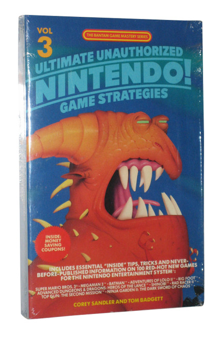 Ultimate Unauthorized Nintendo Game Strategies NES Vol. 3 Strategy Guide Book