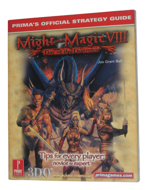 Might & Magic VIII Day of The Destroyer Prima Strategy Guide Book