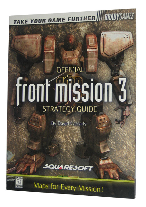 Front Mission 3 Brady Games Official Strategy Guide Book