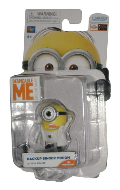 Despicable Me Minions Movie Backup Singer Thinkway Toys Action Figure