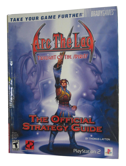Arc The Lad Twilight of Spirits Official Strategy Guide Book