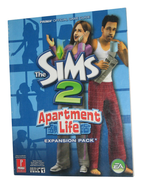Sims 2 Apartment Life Prima Official Strategy Guide Book