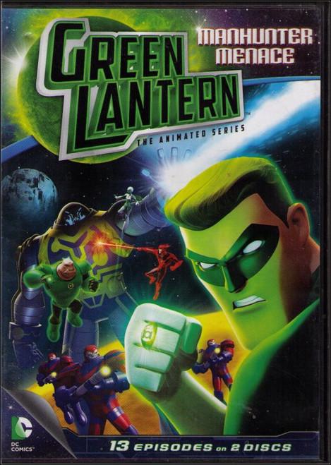 DC Green Lantern Animated Show Manhunter Menace (2013) DVD