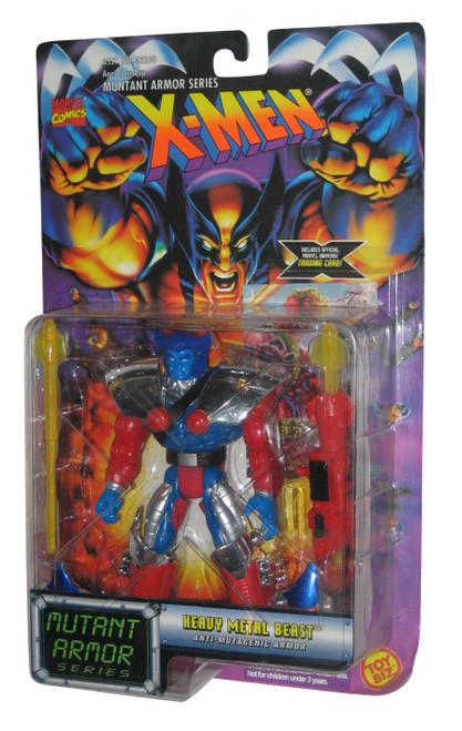 Marvel Mutant Armor X-Men Heavy Metal Beast Toy Biz Figure w/ Anti-Mutagenic Armor