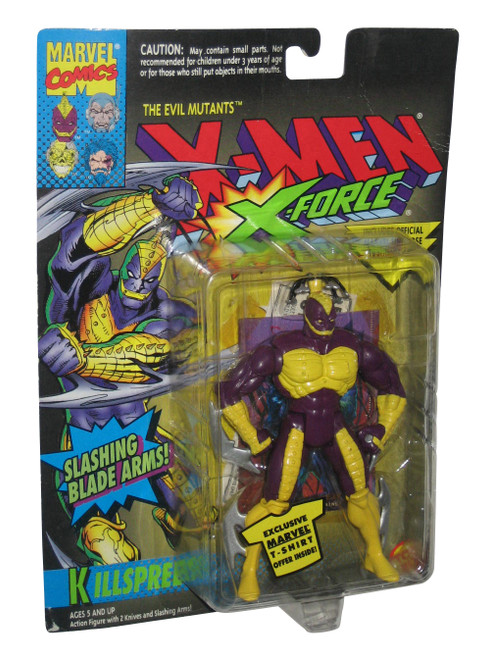 Marvel Comics X-Men X-Force Killspree (1994) Toy Biz Action Figure