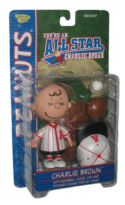 You're An All Star Charlie Brown Baseball Figure Set - (Memory Lane)