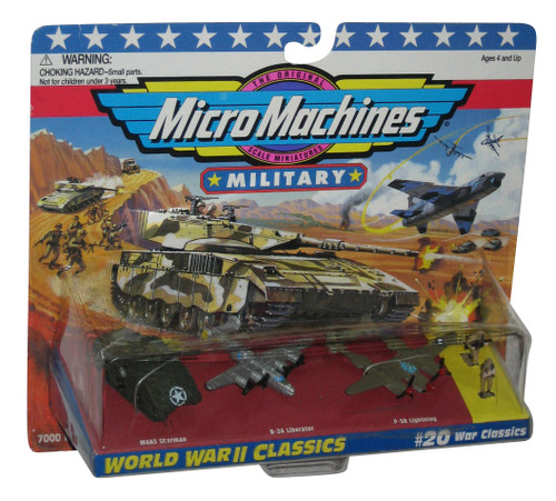 Micro Machines Military World War II #20 Galoob Toy Vehicle Figure Set