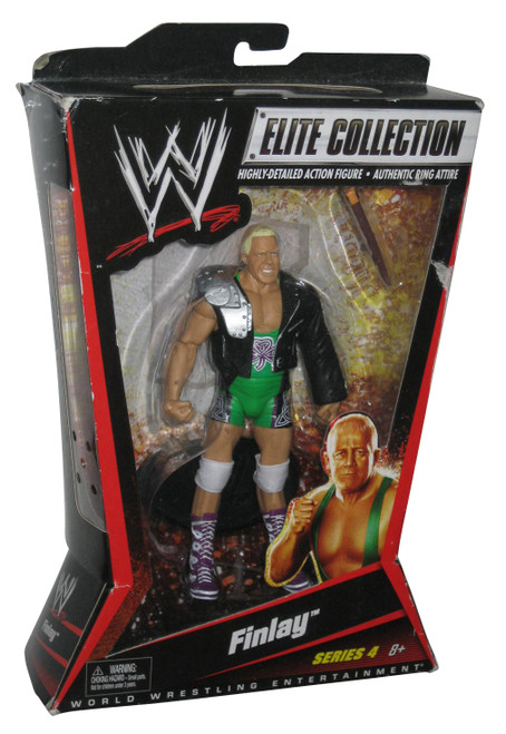WWE Elite Collection Finlay Series 4 WWF Action Figure