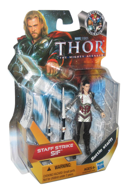 Marvel Comics Thor Movie Staff Strike Sif Hasbro Action Figure #16