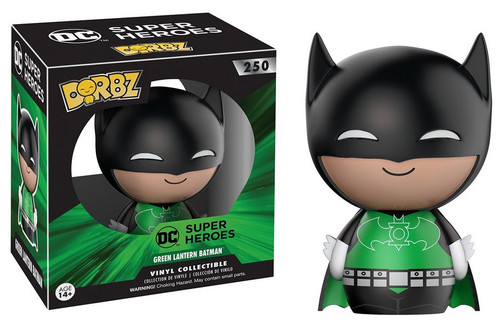 DC Comics Batman Green Lantern Funko Dorbz Vinyl Figure #250