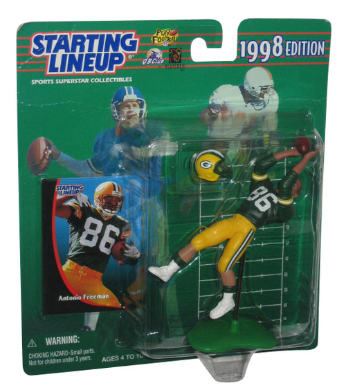NFL Football Starting Lineup Antonio Freeman (1998) Action Figure w/ Card