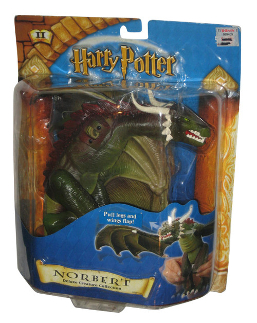 Harry Potter Norbert Dragon Deluxe Creature Movie (2001) Mattel Action Figure