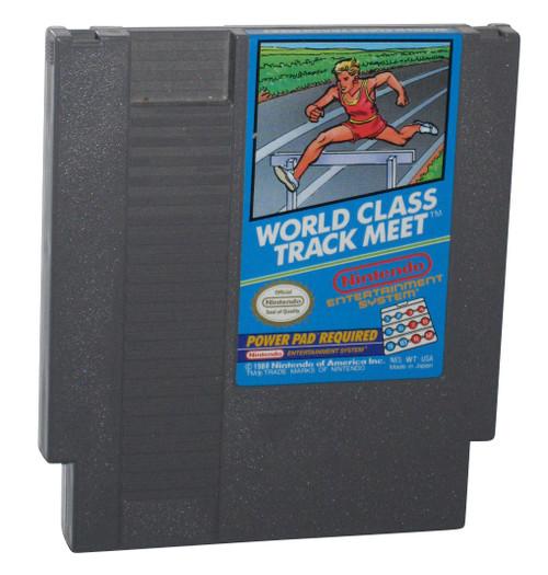 Nintendo NES World Class Track Meet Power Pad 8-Bit Video Game
