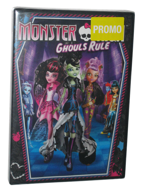Monster High Ghouls Rule Kids Children DVD