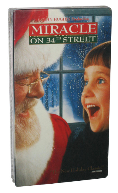 Miracle On 34th Street Christmas Vintage VHS Tape