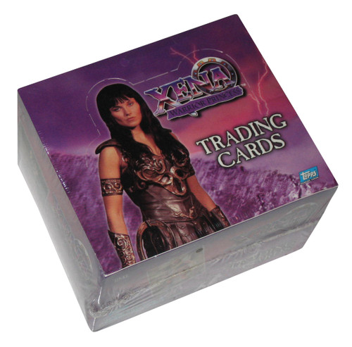 Xena Warrior Princess Vintage 1998 Topps Trading Cards Box - (36 Packs)