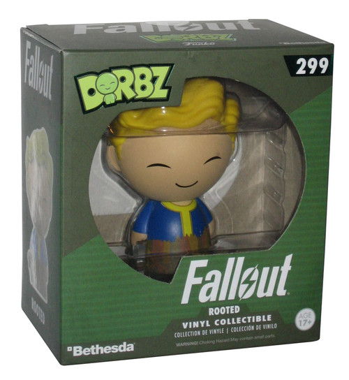Fallout Vault Boy Rooted Dorbz Funko Vinyl Figure 299