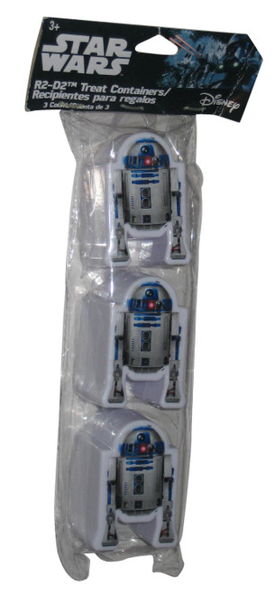 Disney Star Wars R2-D2 Snack Treat Containers - (Pack of 3)