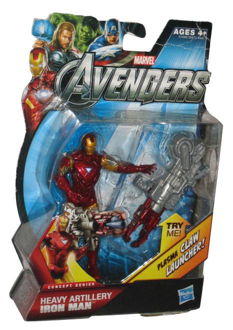 Marvel Avengers Comic Series Heavy Artillery Iron Man Hasbro Figure