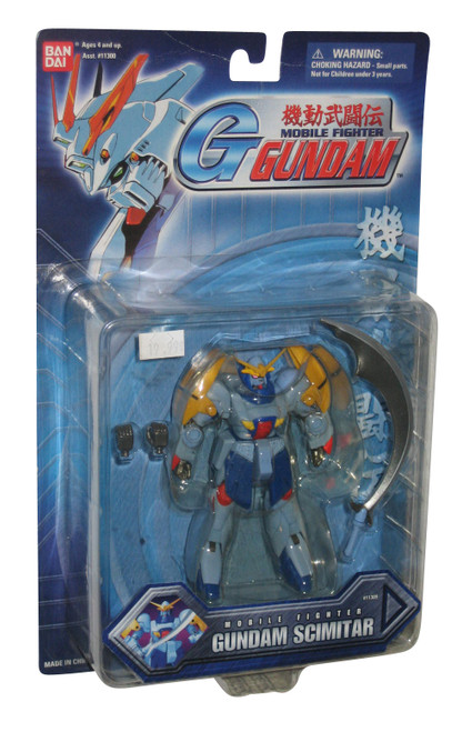 Gundam Mobile Fighter Scimitar (2002) Bandai Action Figure