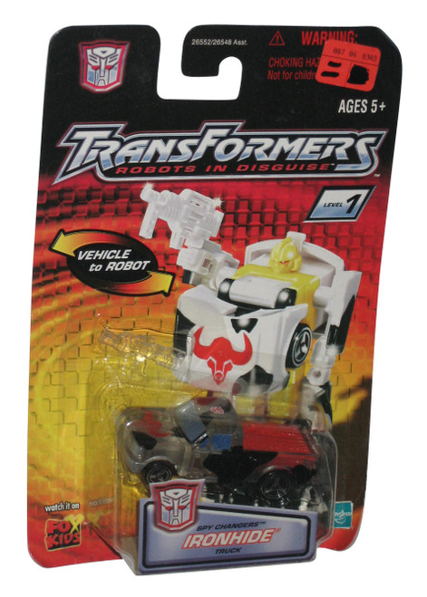 Transformers Robots In Disguise Ironhide Truck Spy Changers Figure Toy Car