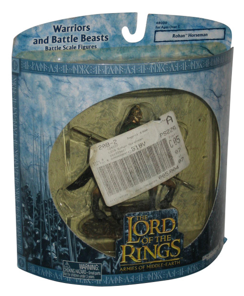 Lord of The Rings Warriors & Battle Beasts Armies Rohan Horseman Figure