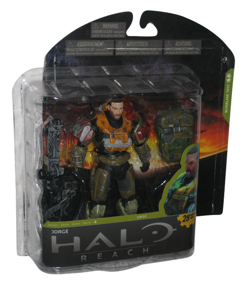 Halo Reach Series 4 Jorge McFarlane Toys Figure