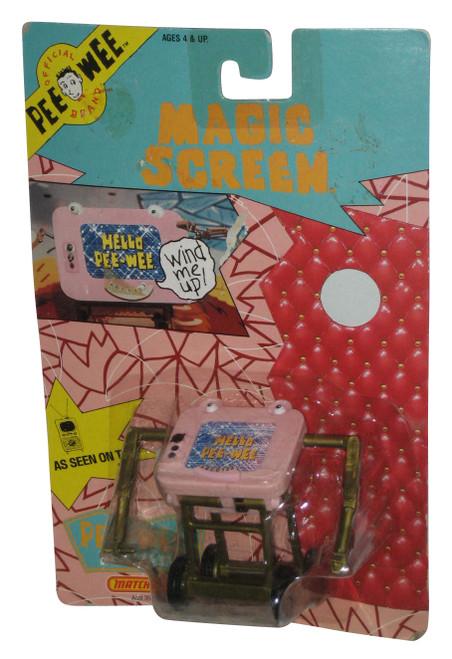 Pee-Wee Herman Playhouse Magic Screen (1988) Matchbox Toy Figure