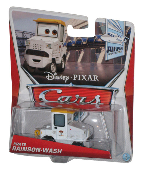 Disney Cars Movie Airport Adventure Krate Rainson-Wash Die Cast Toy Car