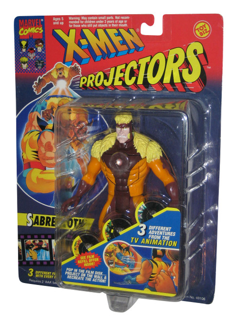 Marvel Comics X-Men Sabretooth Projectors Toy Biz Action Figure
