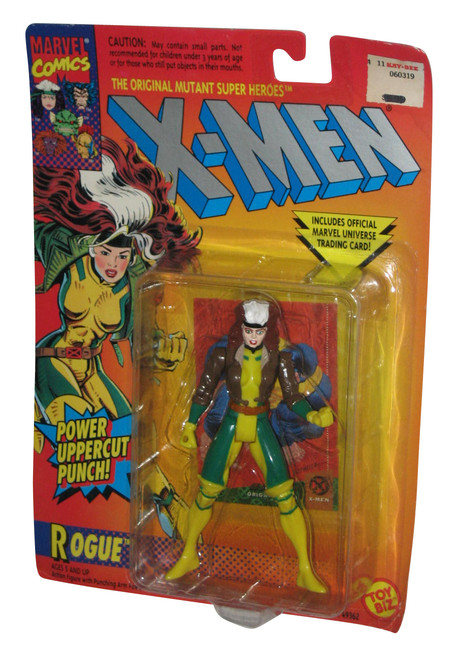 Marvel Comics X-Men Power Uppercut Rogue Toy Biz Figure