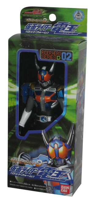 Kamen Rider Den-O Hero Rod Form Series (2007) Bandai Figure D02