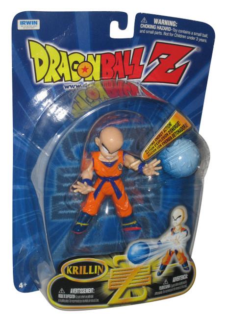 Dragon Ball Z The Saga Continues Krillin Irwin Toys Figure w/ Blasting Energy
