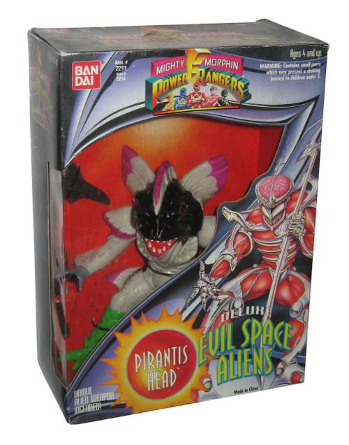 Mighty Morphin Power Rangers Evil Space Aliens Pirantis Head Bandai Figure