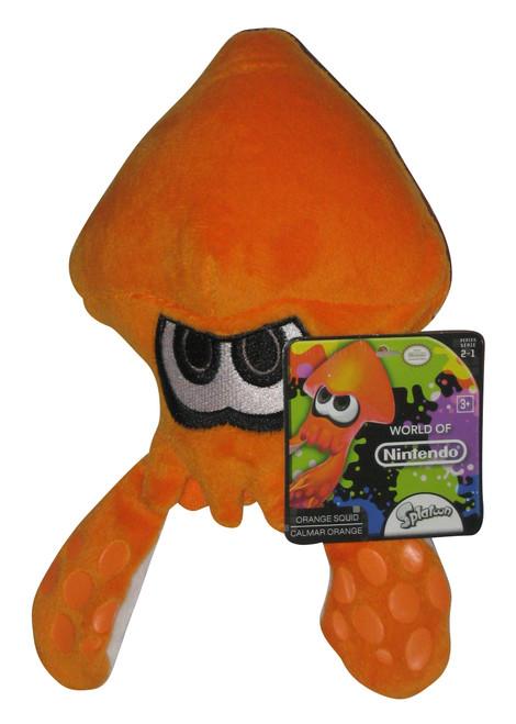 Nintendo World of Nintendo Splatoon Orange Squid Plush Toy