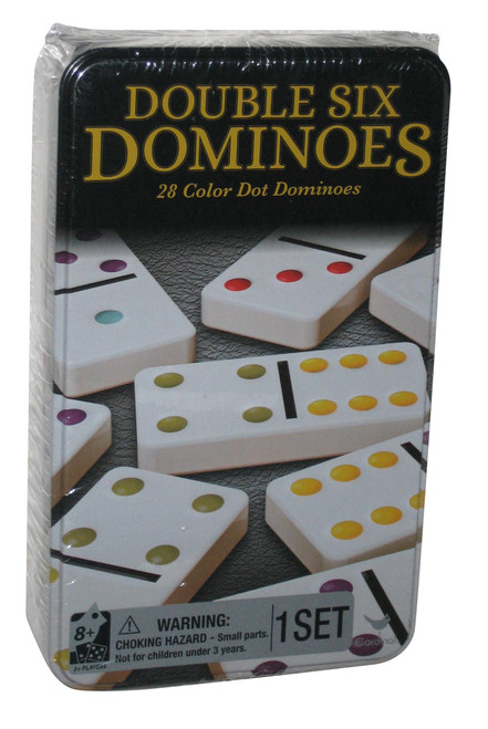 Double Six Dominoes Cardinal Game Set - (28 Color Dots)