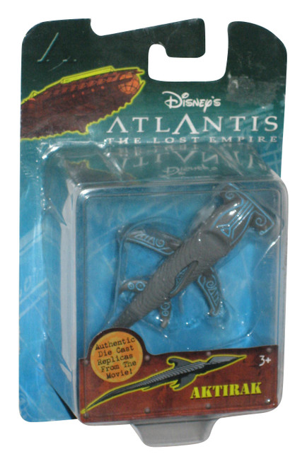 Disney Atlantis Lost Empire Movie Aktirak Die-Cast Toy Figure