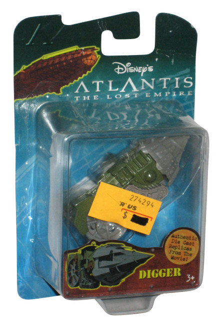 Disney Atlantis Lost Empire Digger Die-Cast Replica Toy Figure