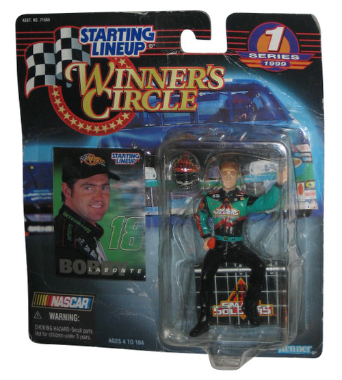 Nascar Starting Lineup Winners Circle (1999) Bobby Labonte Series 1 Figure