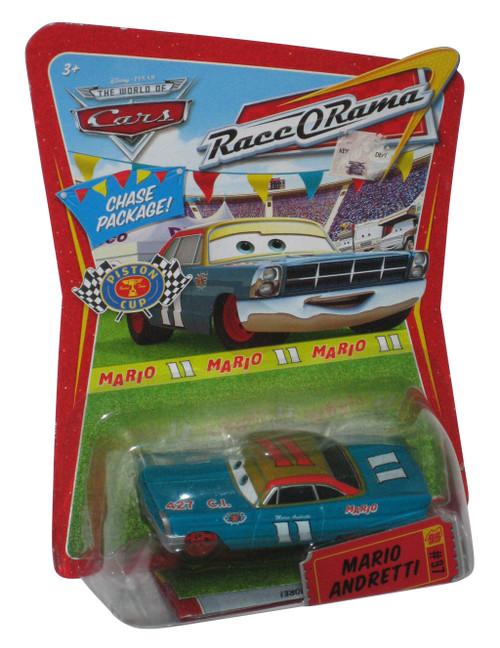 Disney Cars Movie Mario Andretti #97 Chase Race O Rama Toy Car