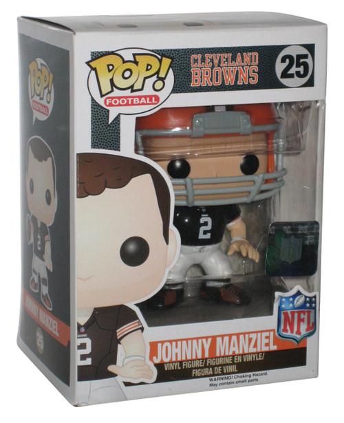 NFL Football Johnny Manziel Cleveland Browns Funko POP! Vinyl Figure 25