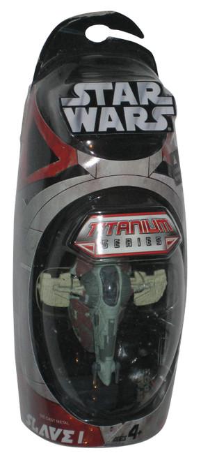 Star Wars Titanium Series Slave 1 Die-Cast Toy Vehicle