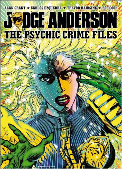 Judge Anderson The Psychic Crime Files Paperback TPB Book