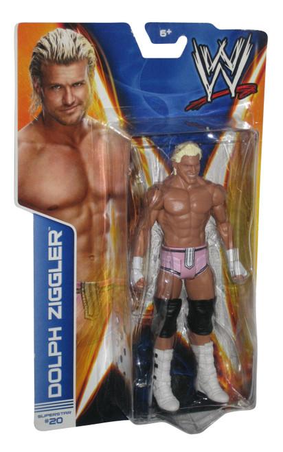 WWE Dolph Ziggler Superstar #20 Wrestling WWF Mattel Action Figure
