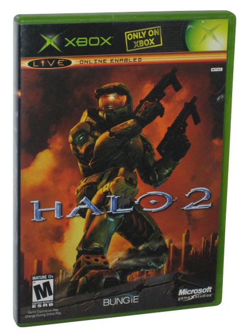 Halo 2 Black Label Case X-Box Video Game