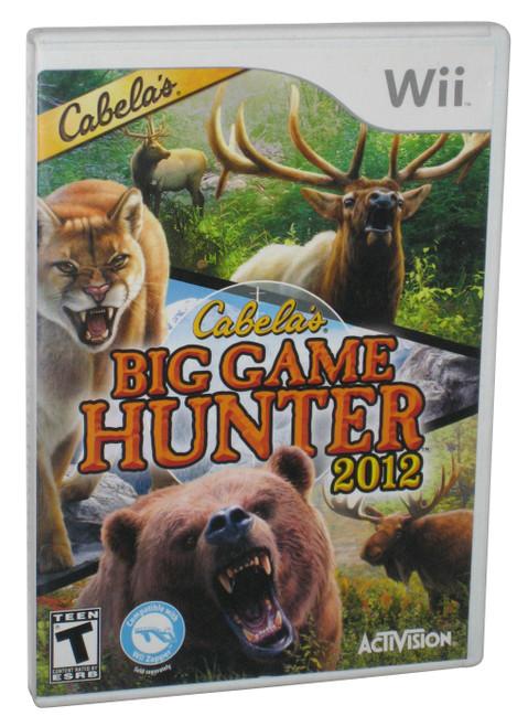Cabela's Big Game Hunter Nintendo Wii Video Game