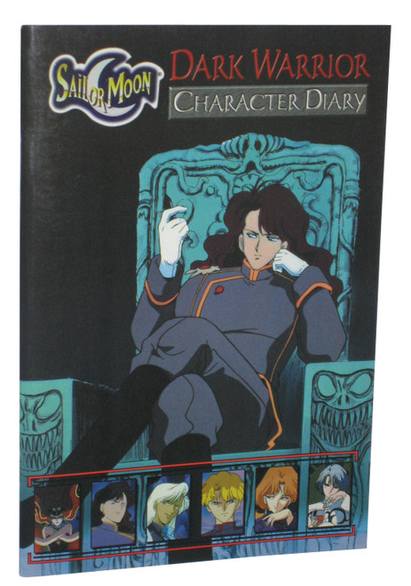 Sailor Moon Dark Warrior Character Diary (1999) Paperback Book