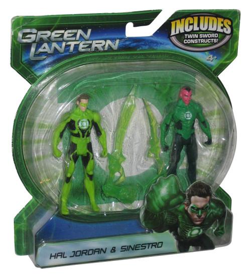DC Green Lantern Hal Jordan & Sinestro Mattel Figure 2-Pack