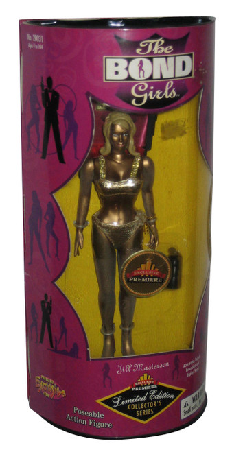 James Bond In Goldfinger Girls Exclusive Premiere Jill Masterson Doll Figure
